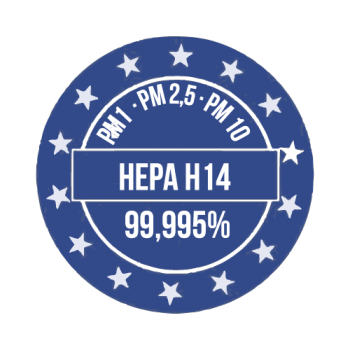 Filtri certificati Standard europeo (EN-1822-1:2019)