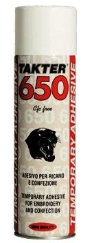 ADESIVO SPRAY TEMPORANEO TAKTER650